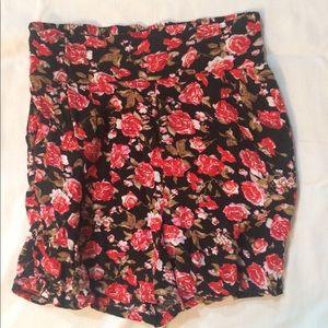 Nice skirts: says medium but runs small!